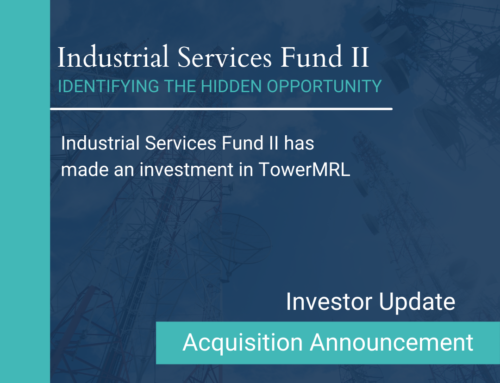 Industrial Services Fund II has made an investment in TowerMRL