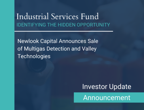 Newlook Capital Announces Sale of Multigas Detection and Valley Technologies